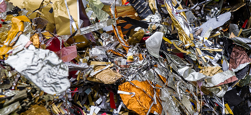 lavorazione del packaging alimentare Lombardi metal recycling