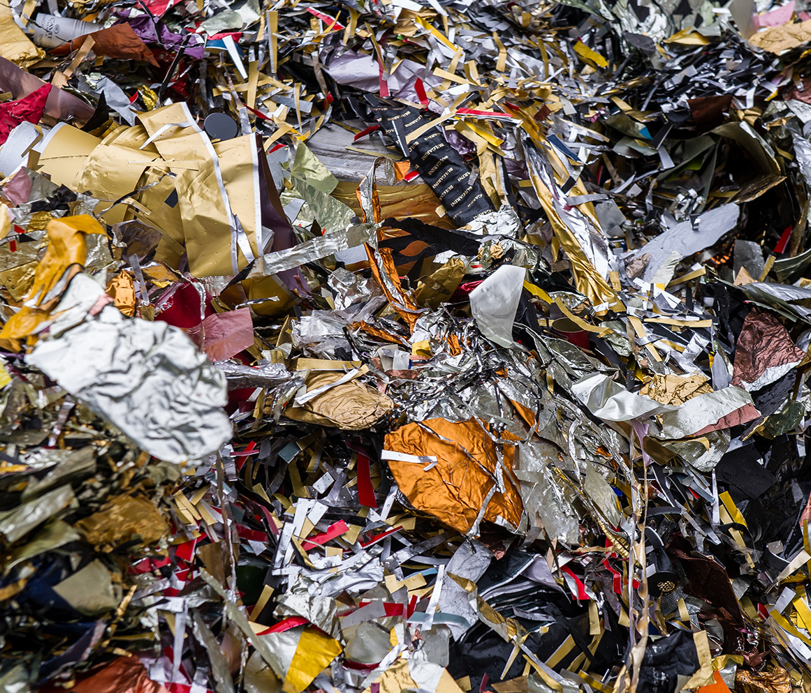 processing of food packaging Lombardi metal recycling