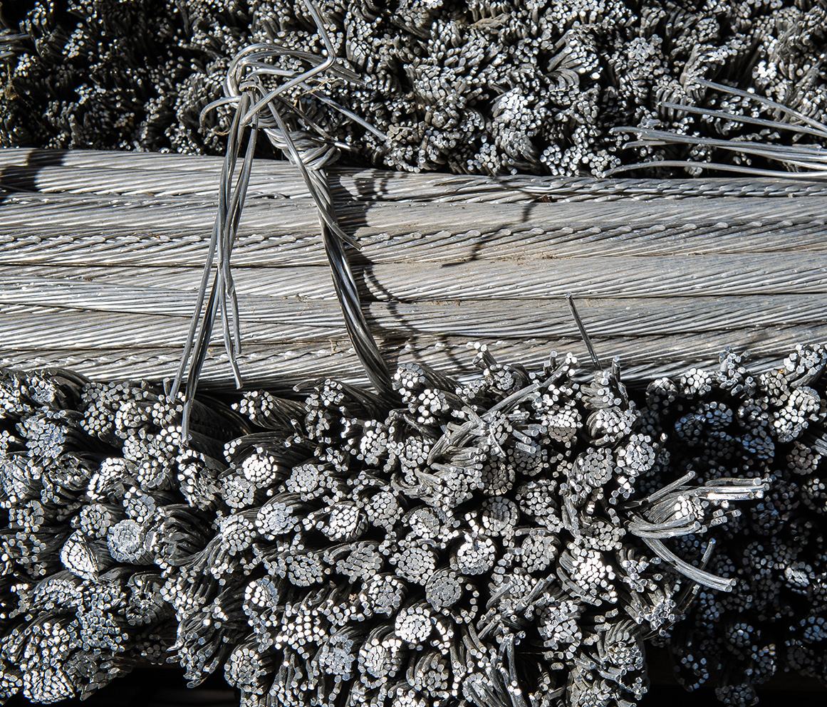 Aluminum Cables Lombardi metal recycling